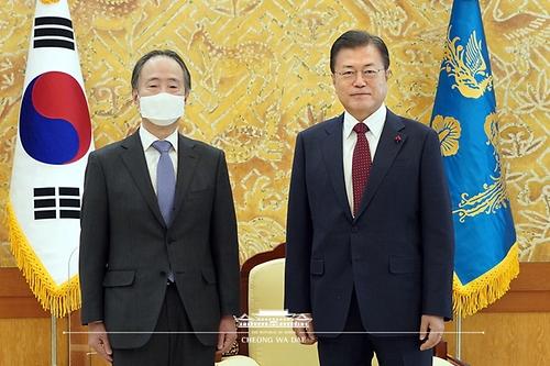 주한일본 대사 접견
