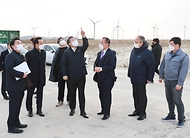 영광 태양광 발전시설 및 풍력 테스트베드 현장방문