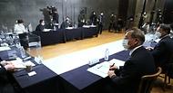 5일 오후 서울 중구 LW컨벤션에서 '사회적 거리두기 체계 개편안 공청회'가 열리고 있다.
