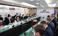 우크라이나 철도진출 위한 인프라 외교 전개