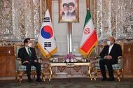 이란 국회의장 면담