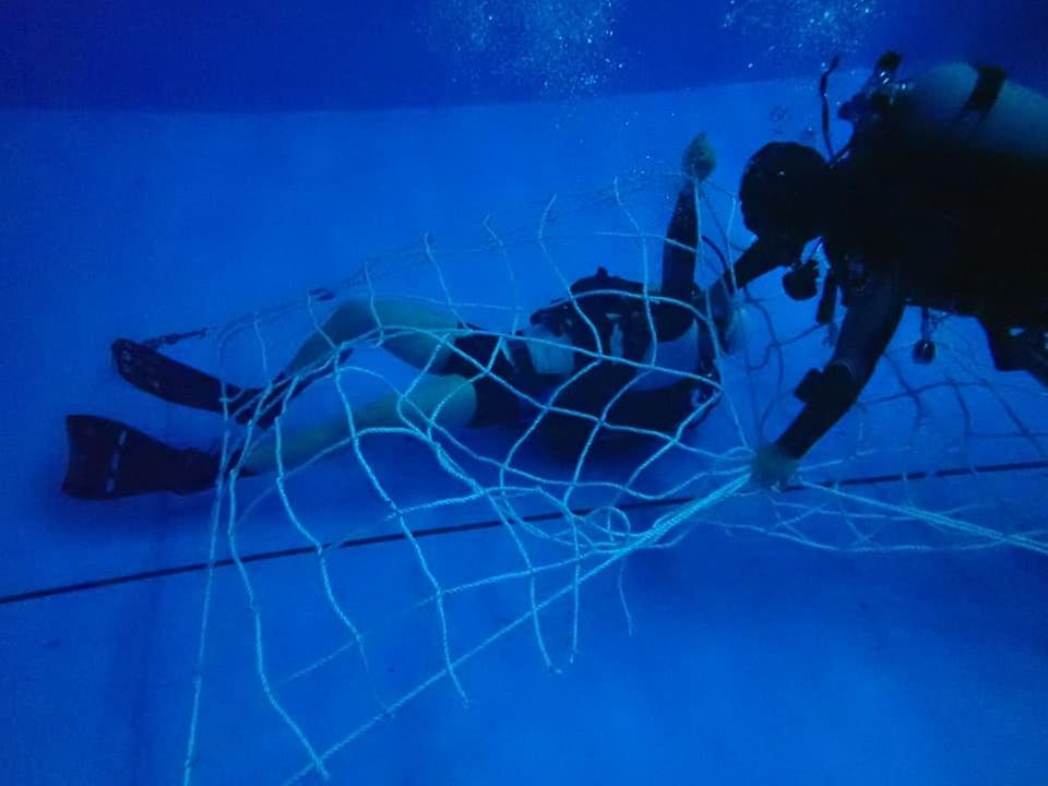 육군특수전사령부 예하 특수전학교는 지난 3월 22일부터 4월 9일까지 총 3주에 걸쳐 '기초 스쿠버(SCUBA·Self-Contained Underwater Breathing Apparatus) 교육'을 진행 하였다.
