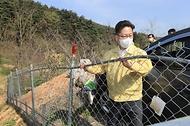 강원도 양양 아프리카돼지열병 방역 현장 점검 사진 5