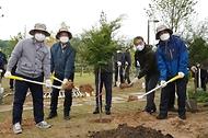 '목재분야 기업인과 함께하는 탄소중립의 숲 조성 나무심기' 행사 개최