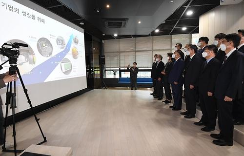 시스템반도체 설계지원센터 현장방문 및 제9차 혁신성장 BIG3 추진회의