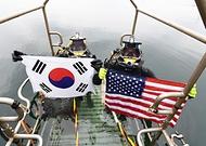한·미 해군, 연합 구조전 훈련