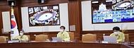 코로나19 대응 중앙재난안전대책본부 회의 사진 2