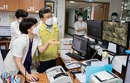 감염병전담병원 현장방문