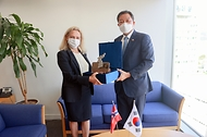 주한 노르웨이 대사대리 접견 사진 1