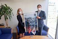 주한 노르웨이 대사대리 접견 사진 4