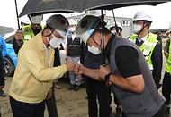 폭염·방역 대응 및 건설 자재 수급현황 점검 현장방문 사진 10
