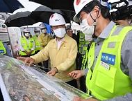 폭염·방역 대응 및 건설 자재 수급현황 점검 현장방문
