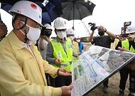 폭염·방역 대응 및 건설 자재 수급현황 점검 현장방문 사진 5