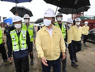 폭염·방역 대응 및 건설 자재 수급현황 점검 현장방문 사진 6
