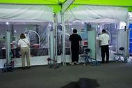 코로나19 선별검사소 의료진들 사진 18