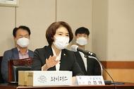 한정애 환경부 장관, '담배꽁초 회수·재활용 시범사업 업무협약식' 참석 사진 6