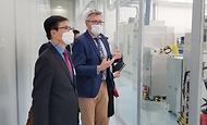세계 최대 반도체 연구소인 IMEC 현장방문