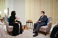 두바이 엑스포 조직위원장 면담 - 2030 부산 엑스포 관련 협력 및 지지 요청