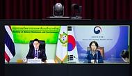 한정애 환경부장관, 태국 환경자원부장관과 화상 양자회담
