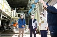한정애 환경부 장관, 서산시 통합 바이오가스화시설 현장 점검