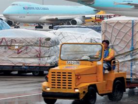 인천국제공항, 물류허브기지로 육성