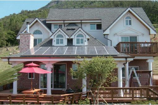 가정용 태양광 설치