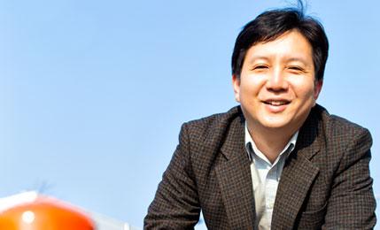 한국형 '시선유도봉' 개발한 이상표 마음코퍼레이션 대표