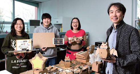로봇 연구원에서 장난감 사업자로, 솔리디어랩 최무성 대표와 직원들