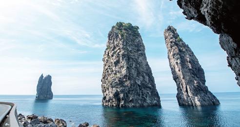 산과 바다 천혜의 경관을 한눈에 울릉도 바다만끽 레저투어