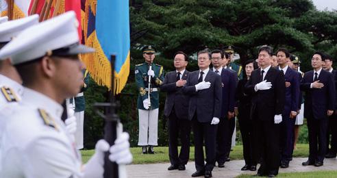 대한민국 국익은 평화… 모든 것 걸고 전쟁 막는다