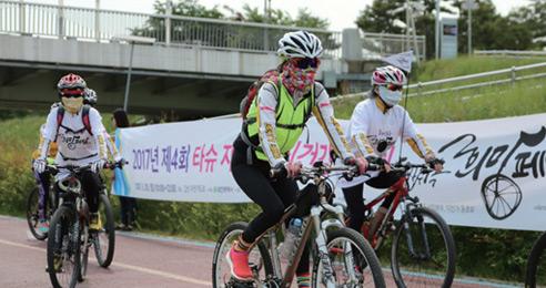 가을에 더 좋은 전국 공공 자전거 타기
