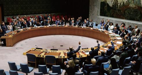 유엔, 유류 제한 등 대북제재 결의 만장일치 채택