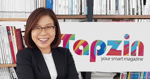 앱계의 '알쓸신잡' 탭진 메이커 손명희 넥스트페이퍼엠엔씨 대표