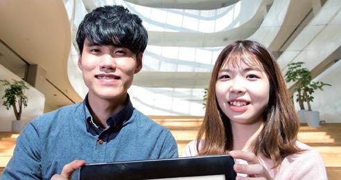 '이제는 평창입니다!' 제9회 대학생 광고 공모전 대상 김준우·권서영 씨