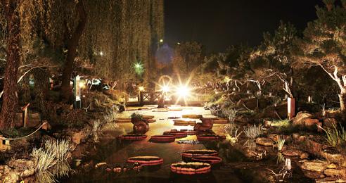 야간 명소 30곳에서 만나는 가을밤