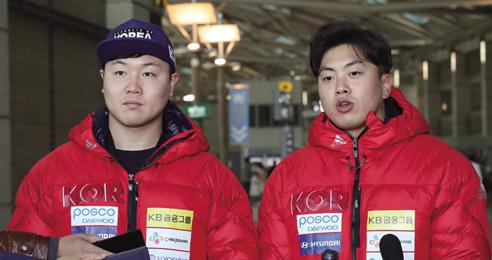 시속 150km '얼음 위의 F1'  원윤종·서영우 메달 사냥 나선다