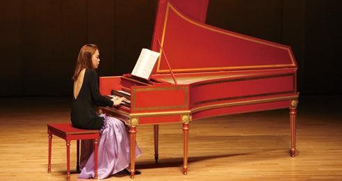 피아니스트의 꿈 하프시코드 건반