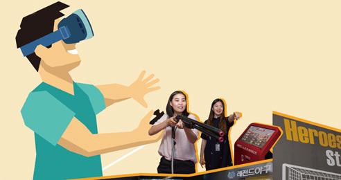 VR시대 실내 스포츠가 뜬다