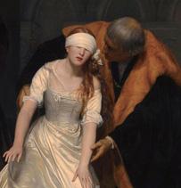 폴 들라로슈, '제인 그레이의 처형', 1843, 유화, 런던 내셔널갤러리