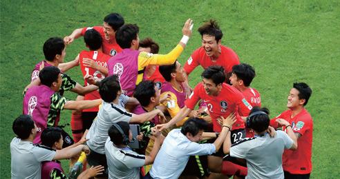 세계 1위 꺾은 대한민국, 아쉽지만 통쾌했다