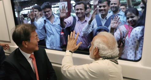 신남방·신동방 시너지 한-인도 교역액 500억 달러 목표