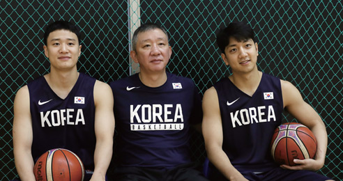 통일농구 허재 감독, 아들 둘과 함께한 평양 방문기