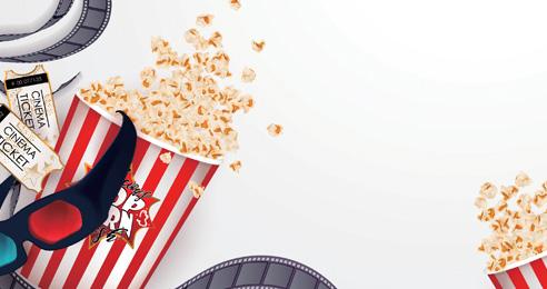 도심 속 휴가, 여름 영화 즐기기