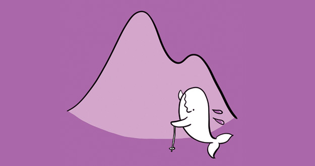 [신정민의 고래 우화] 산에 오른 날