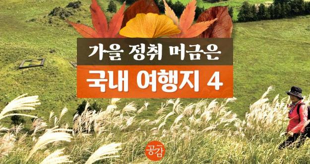 [카드뉴스] 가을을 내 가슴에~가을여행지 4