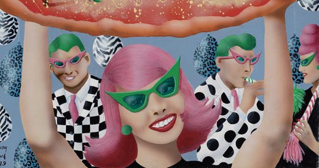 거리의 아티스트, 케니 샤프