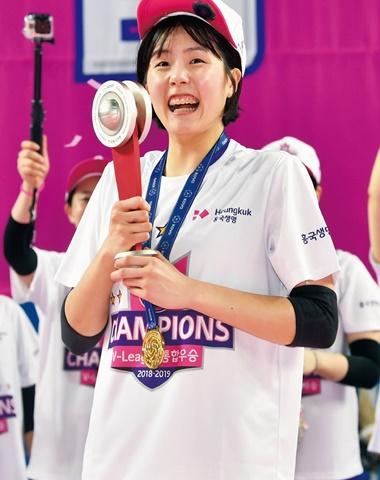 농구 '국보 센터'·배구 '핑크 폭격기' 박지수·이재영 만장일치 MVP