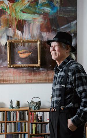 은관문화훈장 수상 현대미술가 김구림