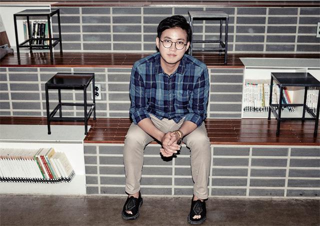 젊은 예술가상 수상 시인 박준