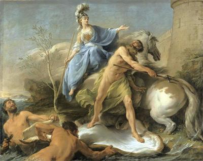 노엘 알레_포세이돈과 아테나의 분쟁